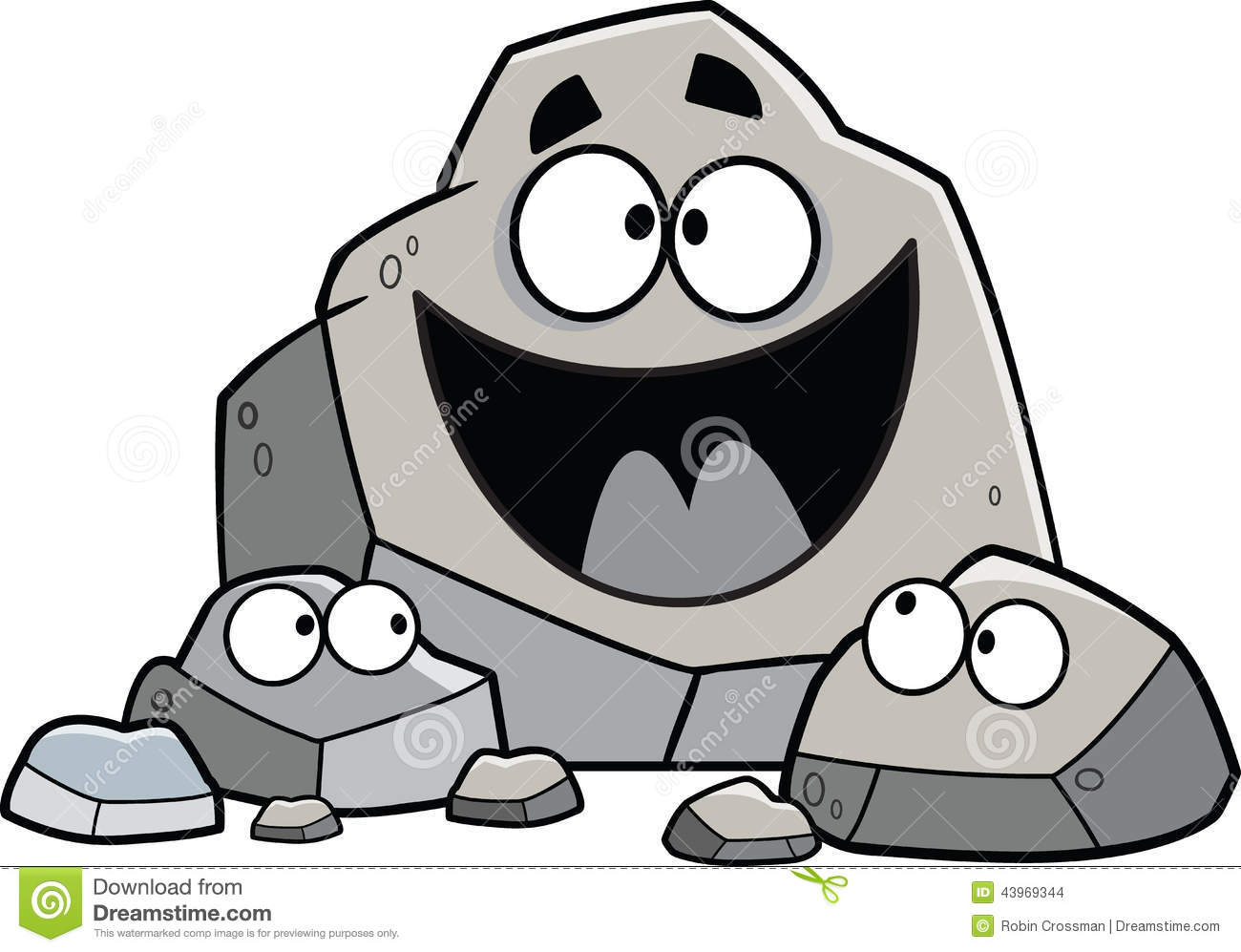 Clipart rock cartoon.  rocks clipartlook