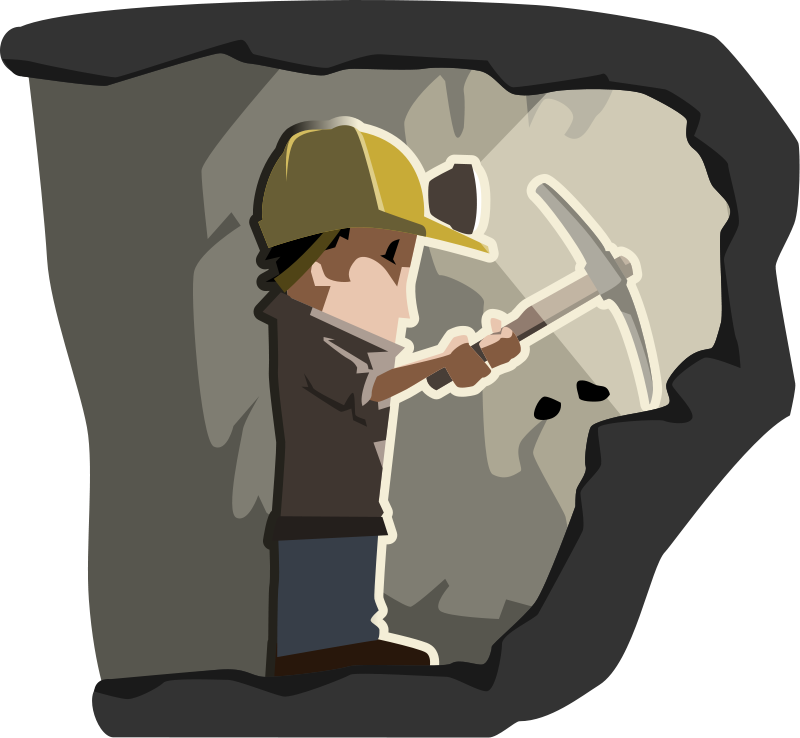 coal clipart mine entrance