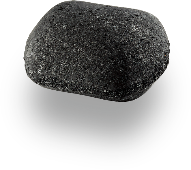 Der dauerbrenner . Coal clipart black stone