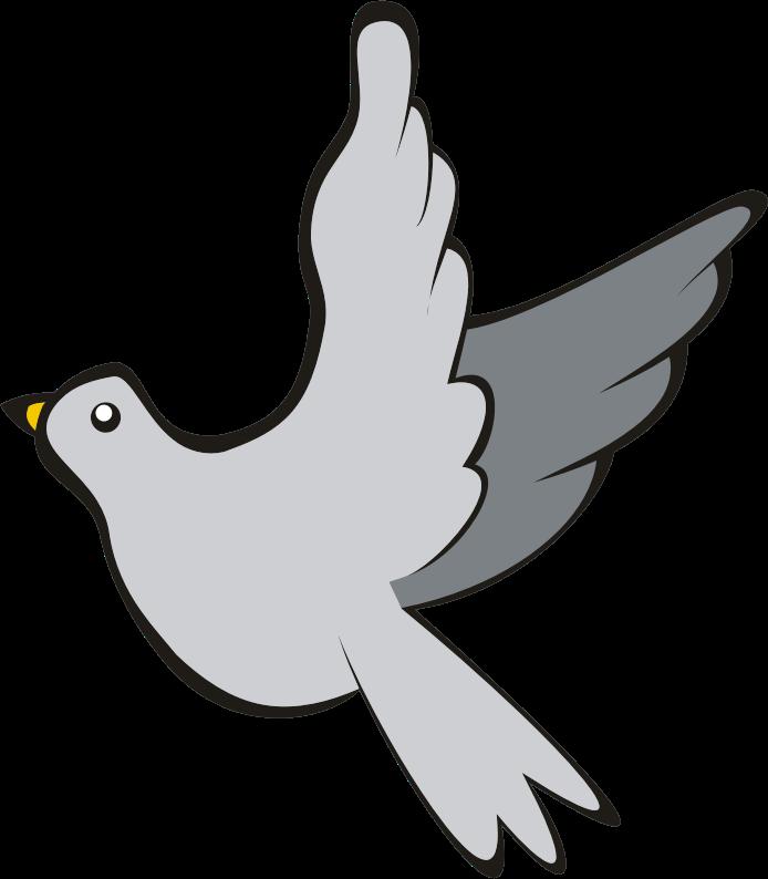 Bird in flight medium. Clipart rock flying