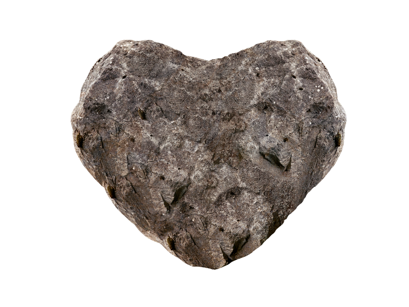 Stone heart png image. Clipart rock geologist