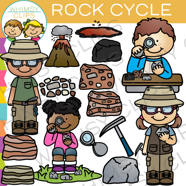 Cycle clip art images. Clipart rock geologist