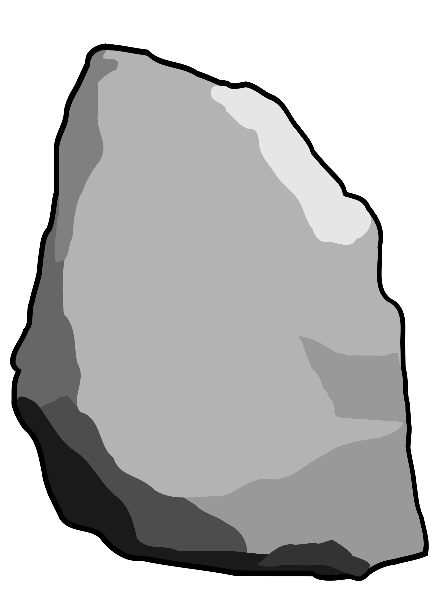Clipart rock hard stone.  collection of images