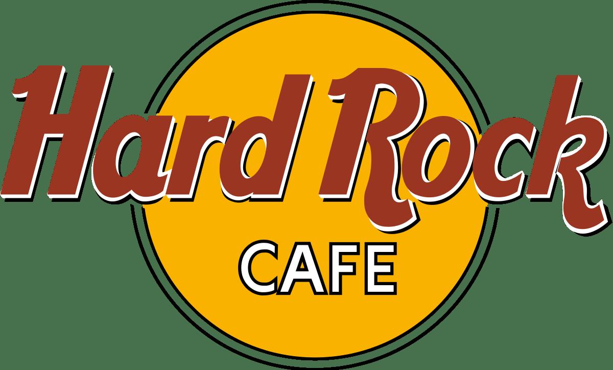 Clipart rock heavy rock. Hard caf logo transparent