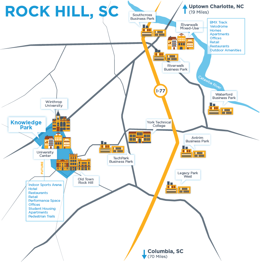 Clipart rock hill. Economic development home