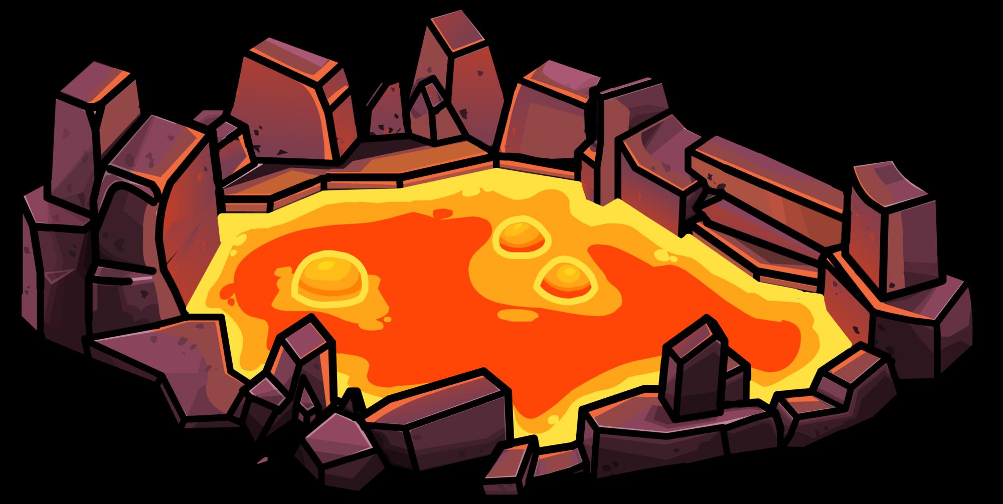 Clipart rock lava rock. Pool club penguin wiki