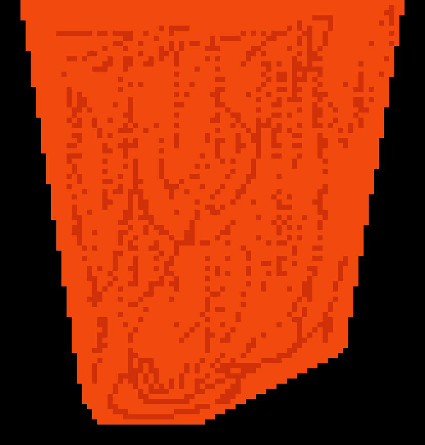 Upper pixel art maker. Clipart rock lava rock