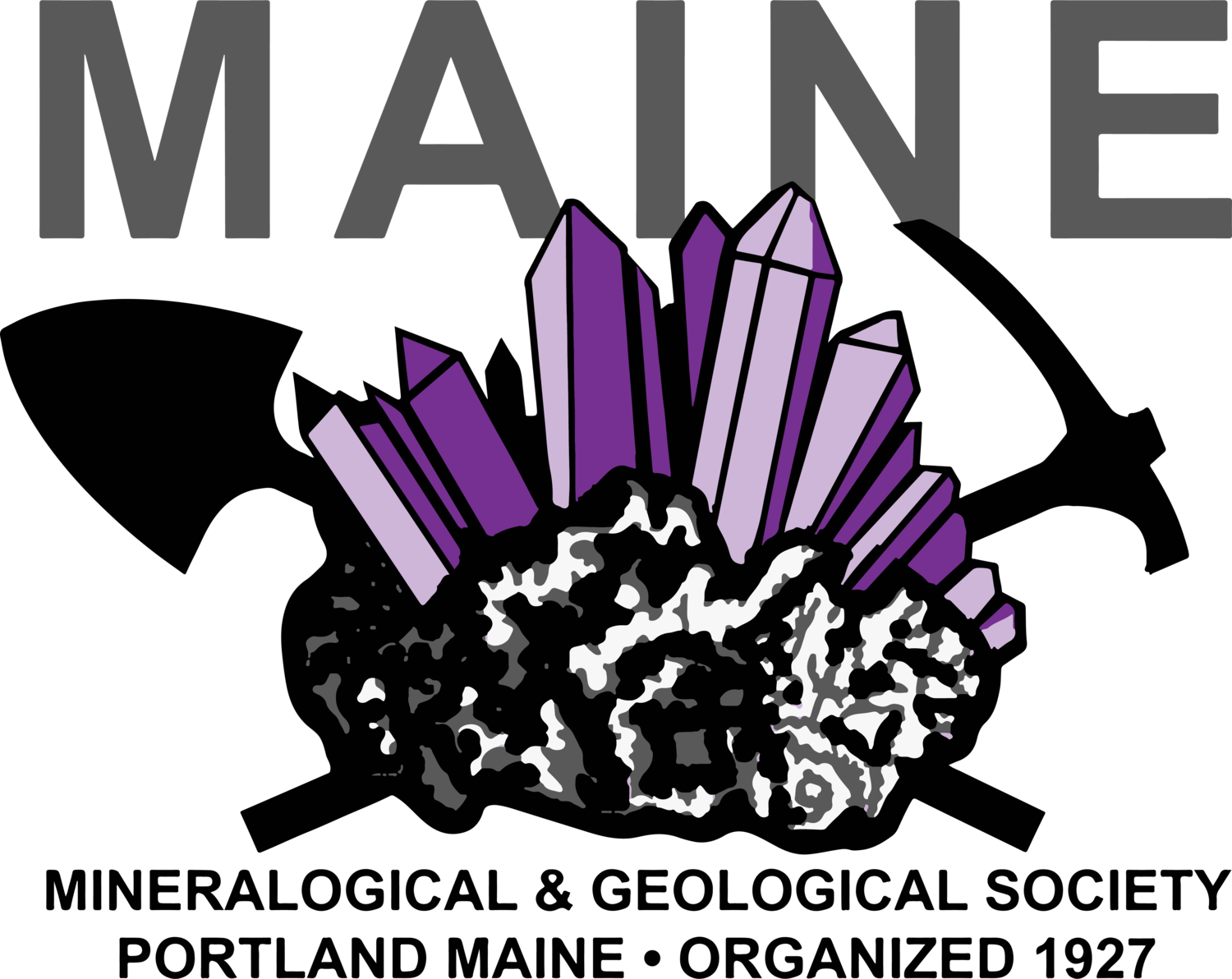 Club clipart club meeting. Maine mineralogical geological