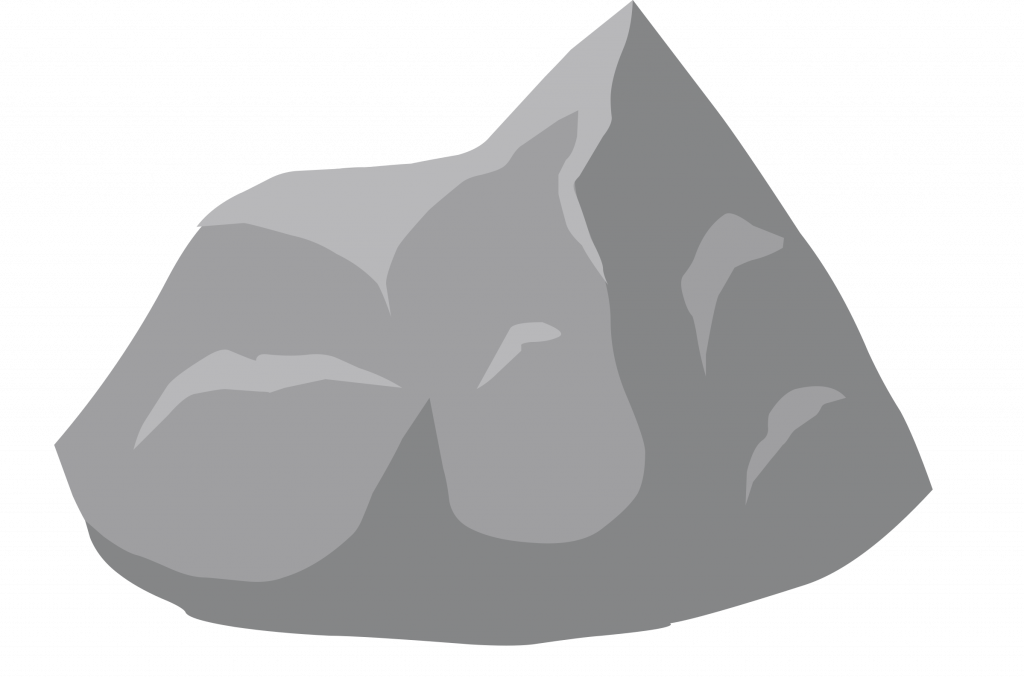 Clipart rock moon rock. Top ilmenskie dull drawing