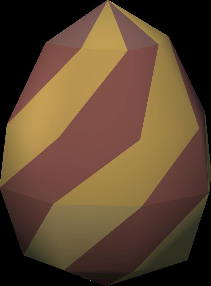 Clipart rock pile rock. Cockatrice egg easter runescape