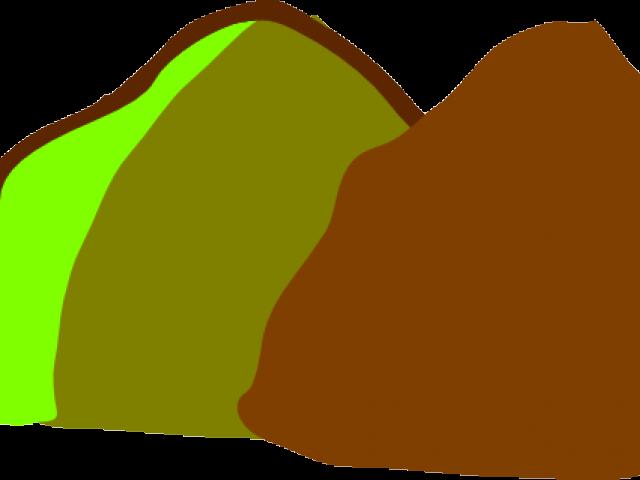 Hill brown frames illustrations. Clipart rock pile rock