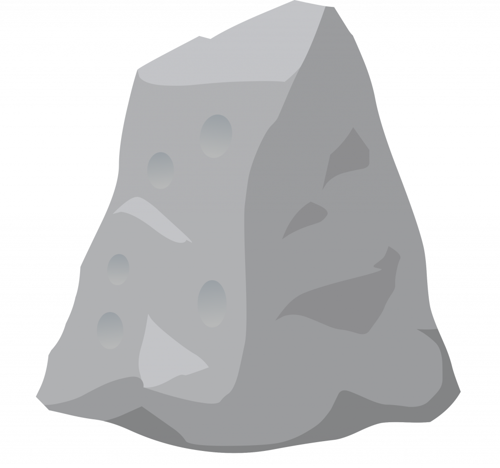 Clipart rock pile rock. Best free ilmenskie dull