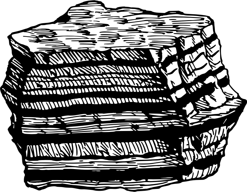 Clipart rock sediment. Sedimentary cycle clip art