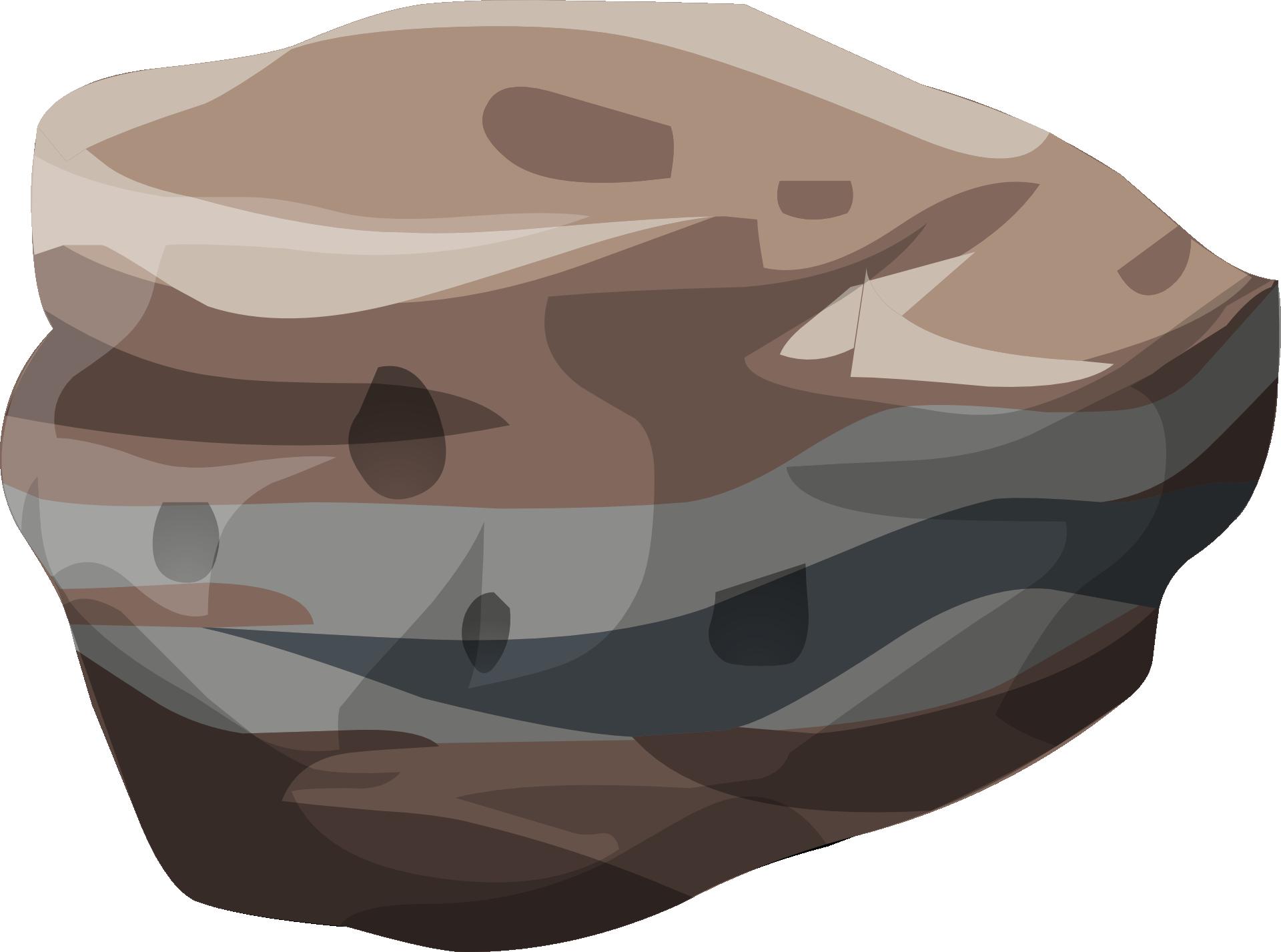 Clipart rock sedimentary rock. Clip art transprent png