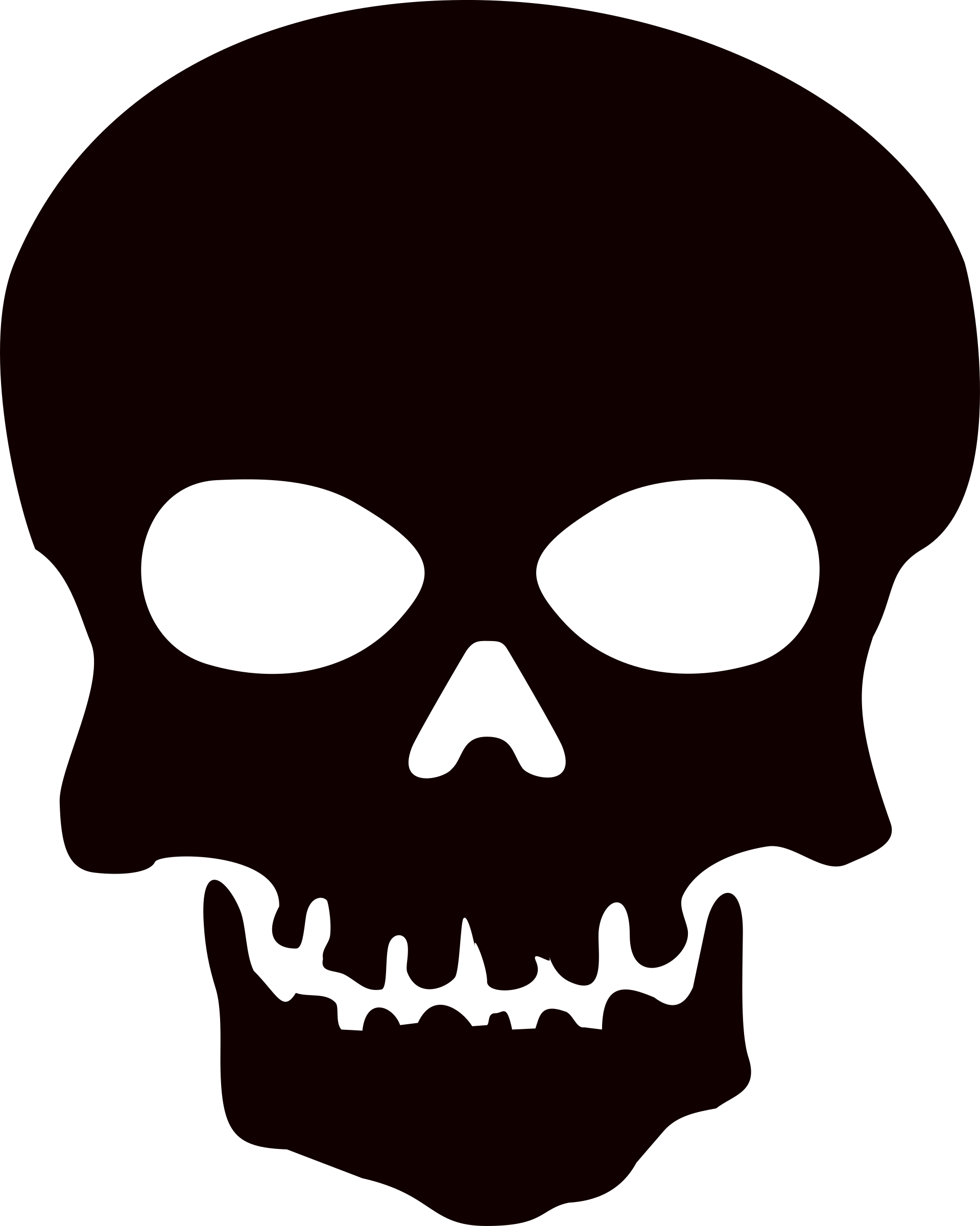 Clipart rock skull.  collection of no