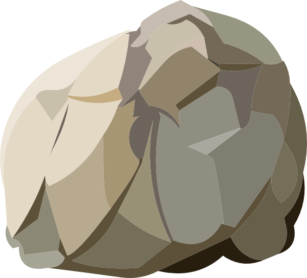 Clipart rock small rock. Harvestable resources clip art