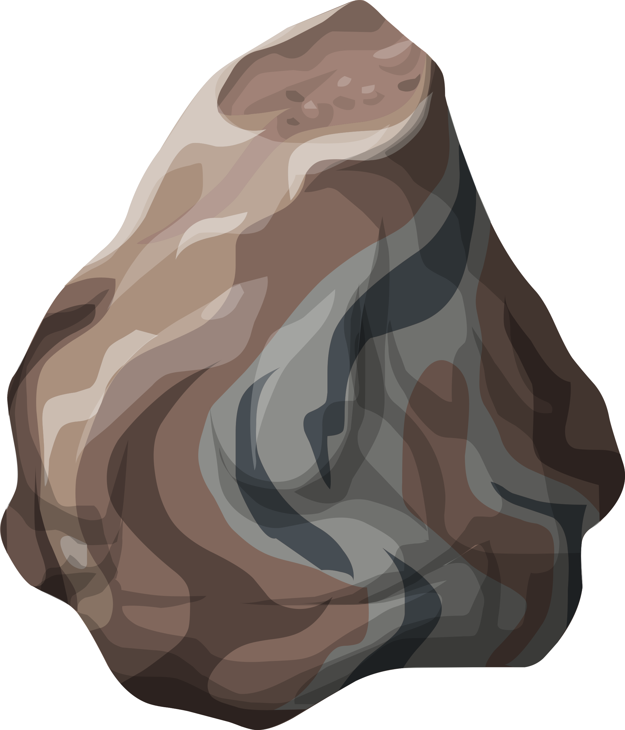 Misc petrified large big. Clipart rock small rock