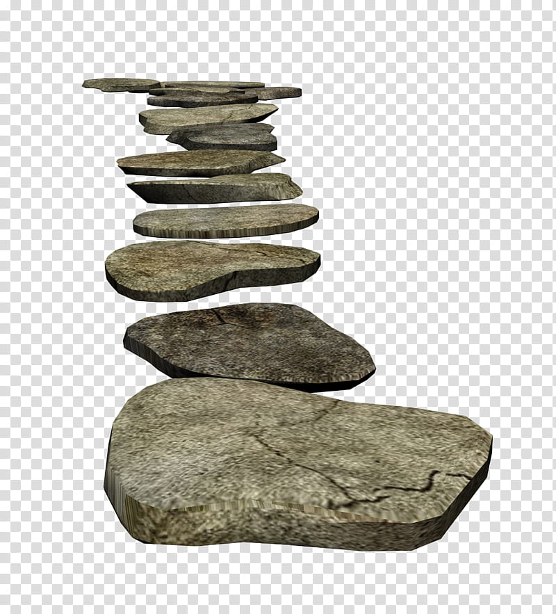 Clipart rock stepping stone. D stones brown slabs