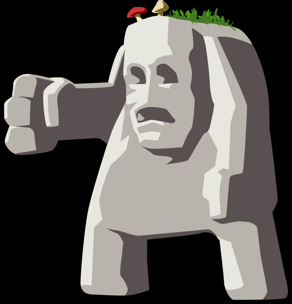 Public domain clip art. Clipart rock stone