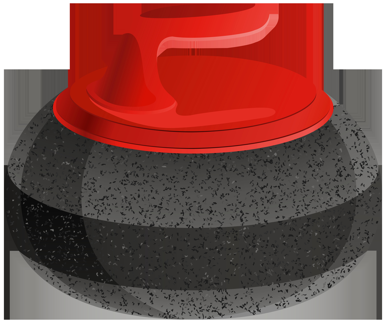 Clipart rock transparent background. Curling stone png clip