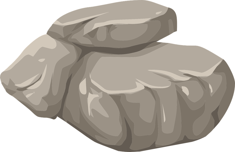 Stones and rocks png. Clipart rock transparent background
