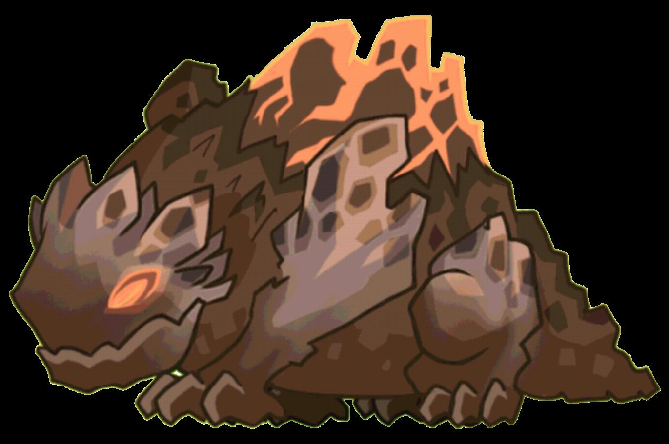 Super volcano dragon evolution. Clipart rock volcanic rock