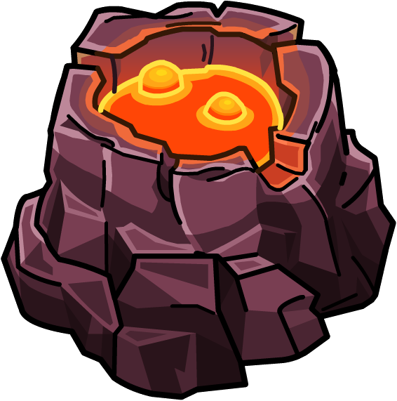 Image volcano furniture png. Clipart rock volcanic rock