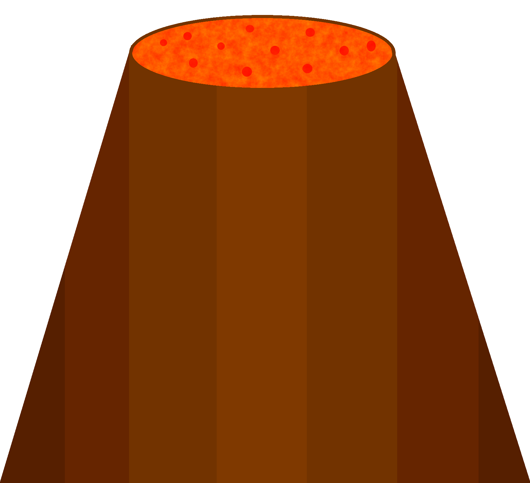 Image png object shows. Clipart rock volcano