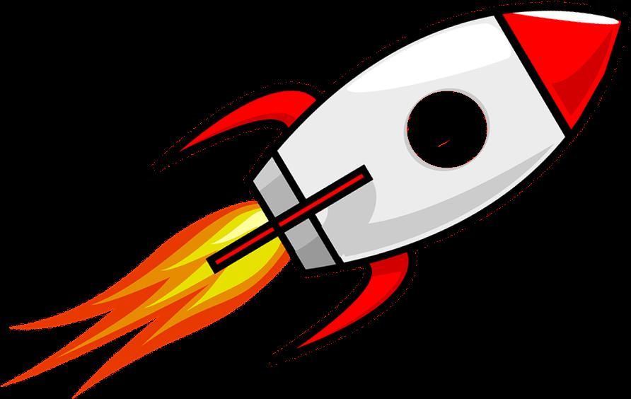 Michigan s cartoon full. Clipart rocket
