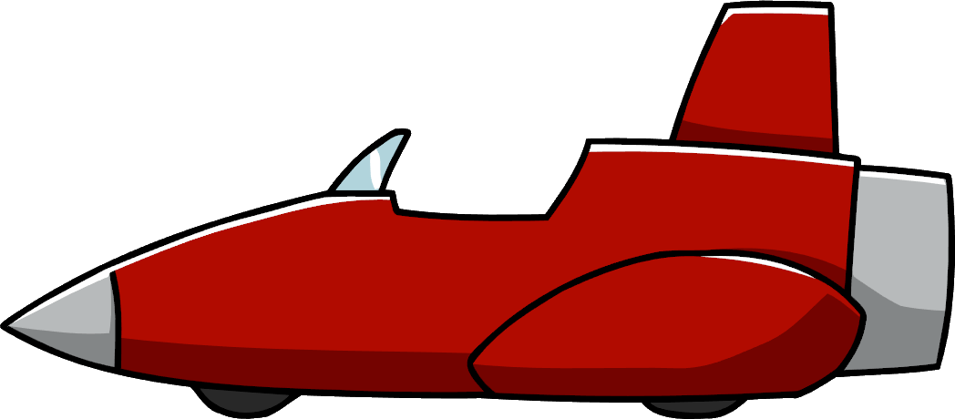Clipart rocket air transport. Car scribblenauts wiki fandom