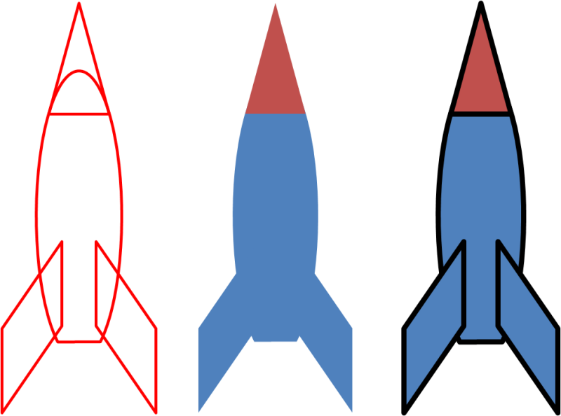 Animated for powerpoint hubpicture. Clipart rocket animation