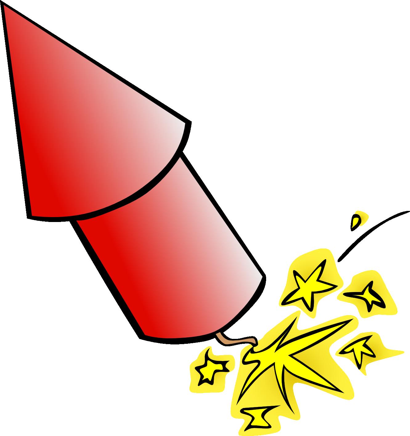 Fireworks firecracker clip art. Clipart rocket animation
