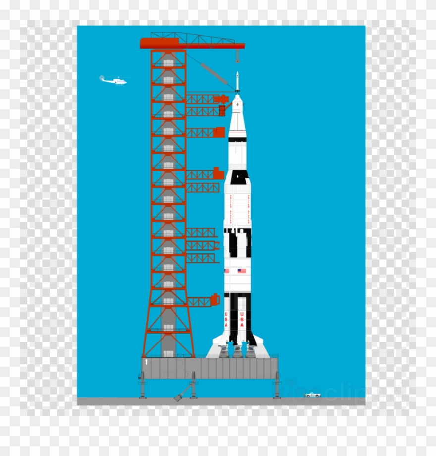 Clipart rocket apollo 11. Space program shuttle