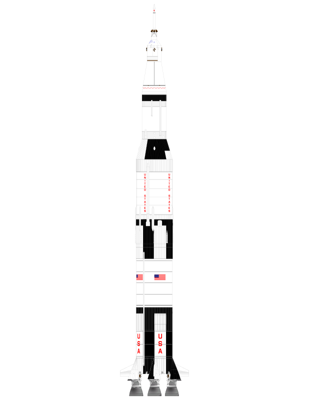 Clipart rocket apollo 13. Images of saturn v