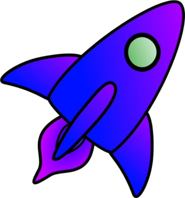 Page pics about space. Clipart rocket astronaut