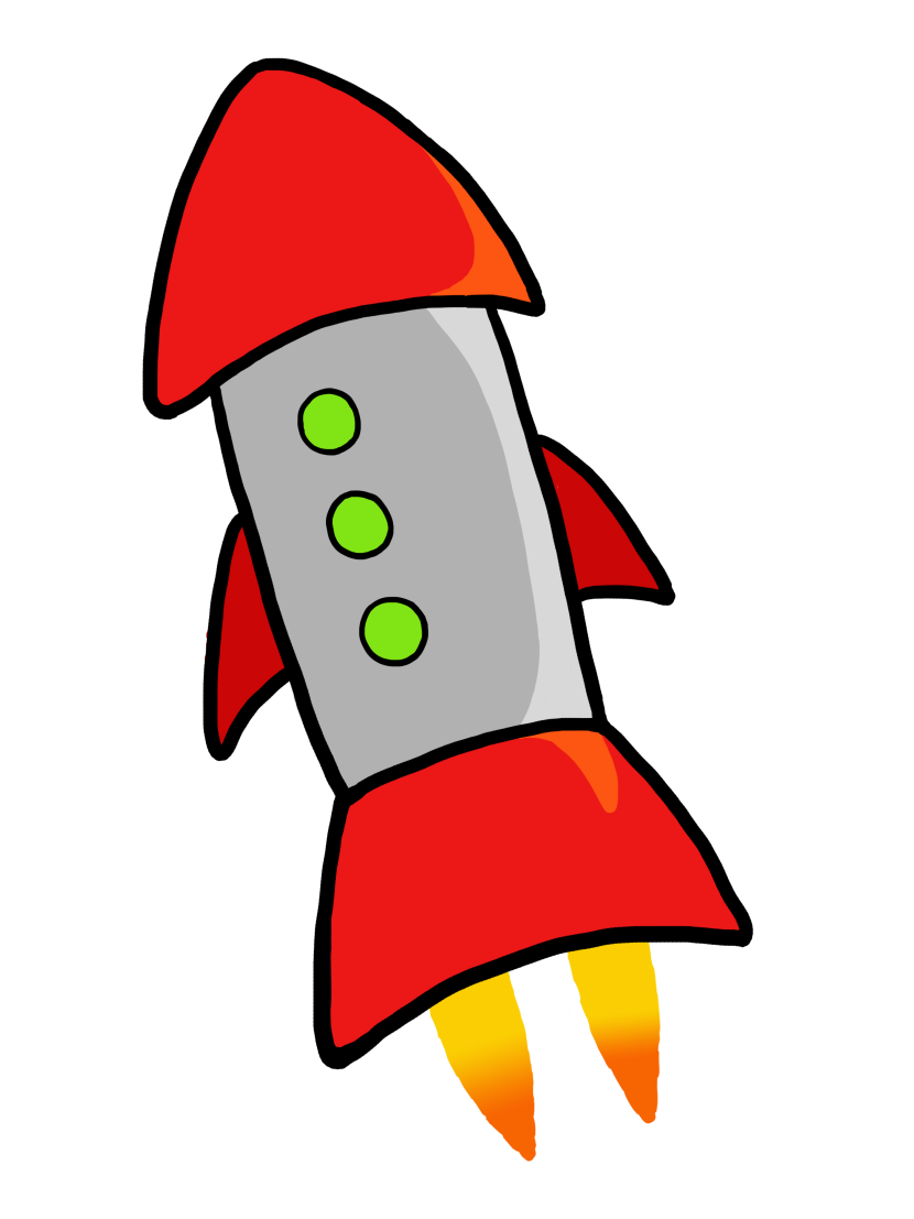 Spaceship clipart missile launch. Rocket at getdrawings com