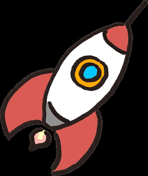 Clipart rocket blank. Target equals elliot dickison