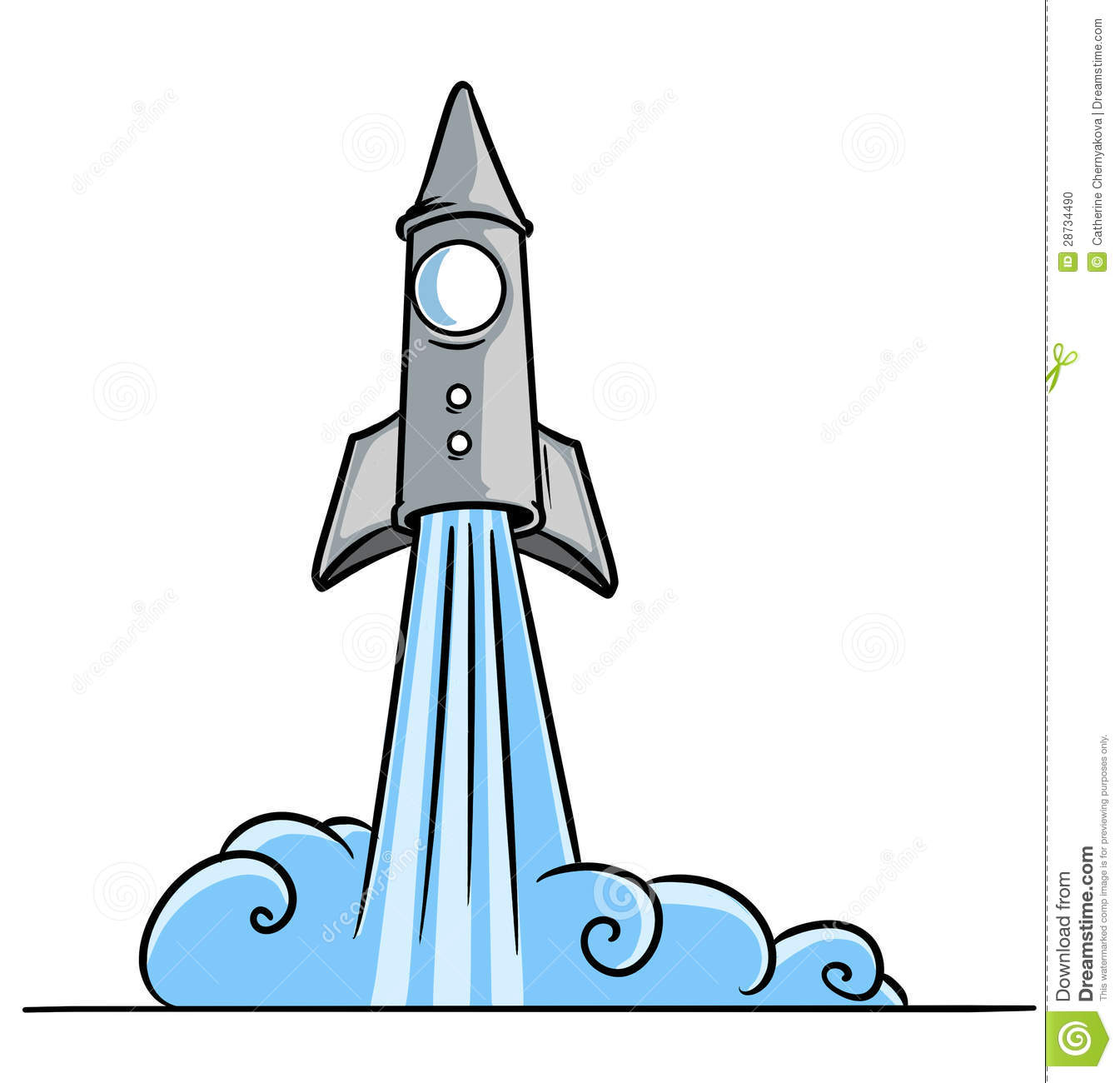 Start a panda free. Clipart rocket blast off