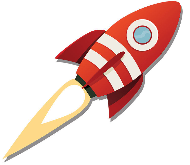 Clipart rocket blast off. Mobile wallet marketers intimate