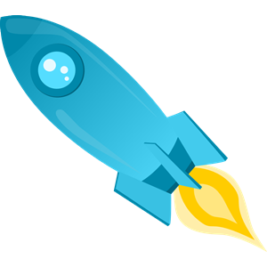 Clipart rocket blue. Cliparts of free download