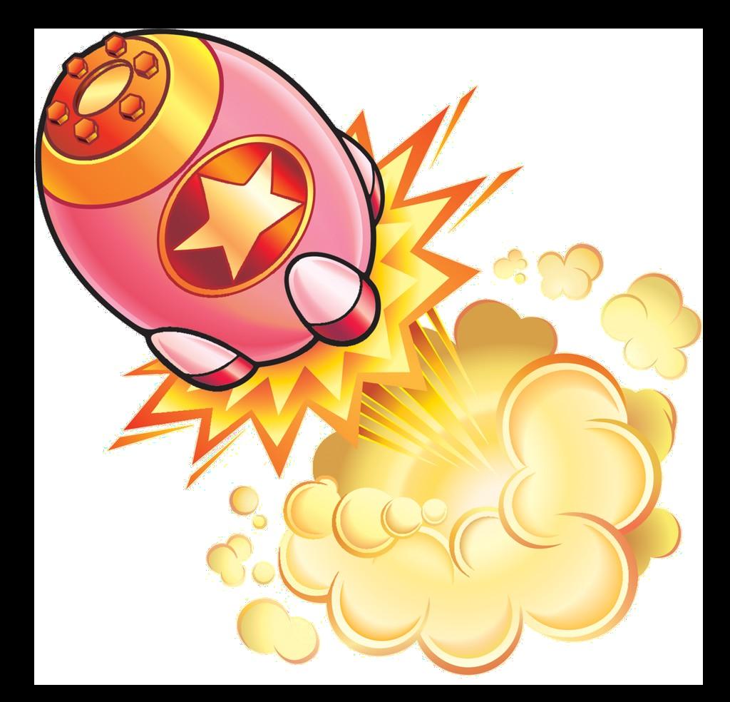 Missile kirby wiki fandom. Fireball clipart rocket