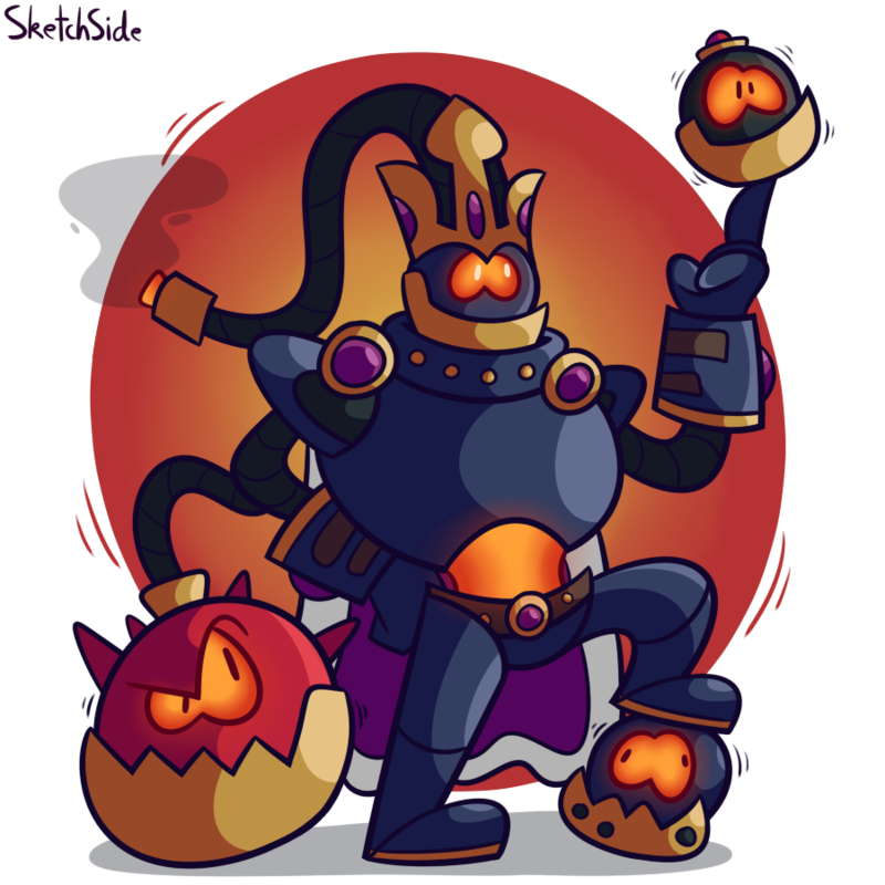 Clipart rocket bomb. The king by thesketchyside
