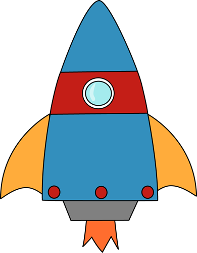 Free pictures for kids. Clipart rocket childrens