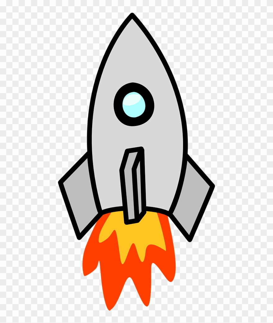 Clipart rocket colour. Page superhero by number