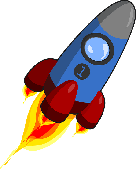 Clipart rocket cool rocket. Humbletraders