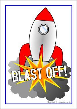 Clipart rocket countdown. Posters sb sparklebox vbs