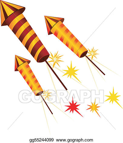 Clipart rocket cracker. Drawing fire crackers in