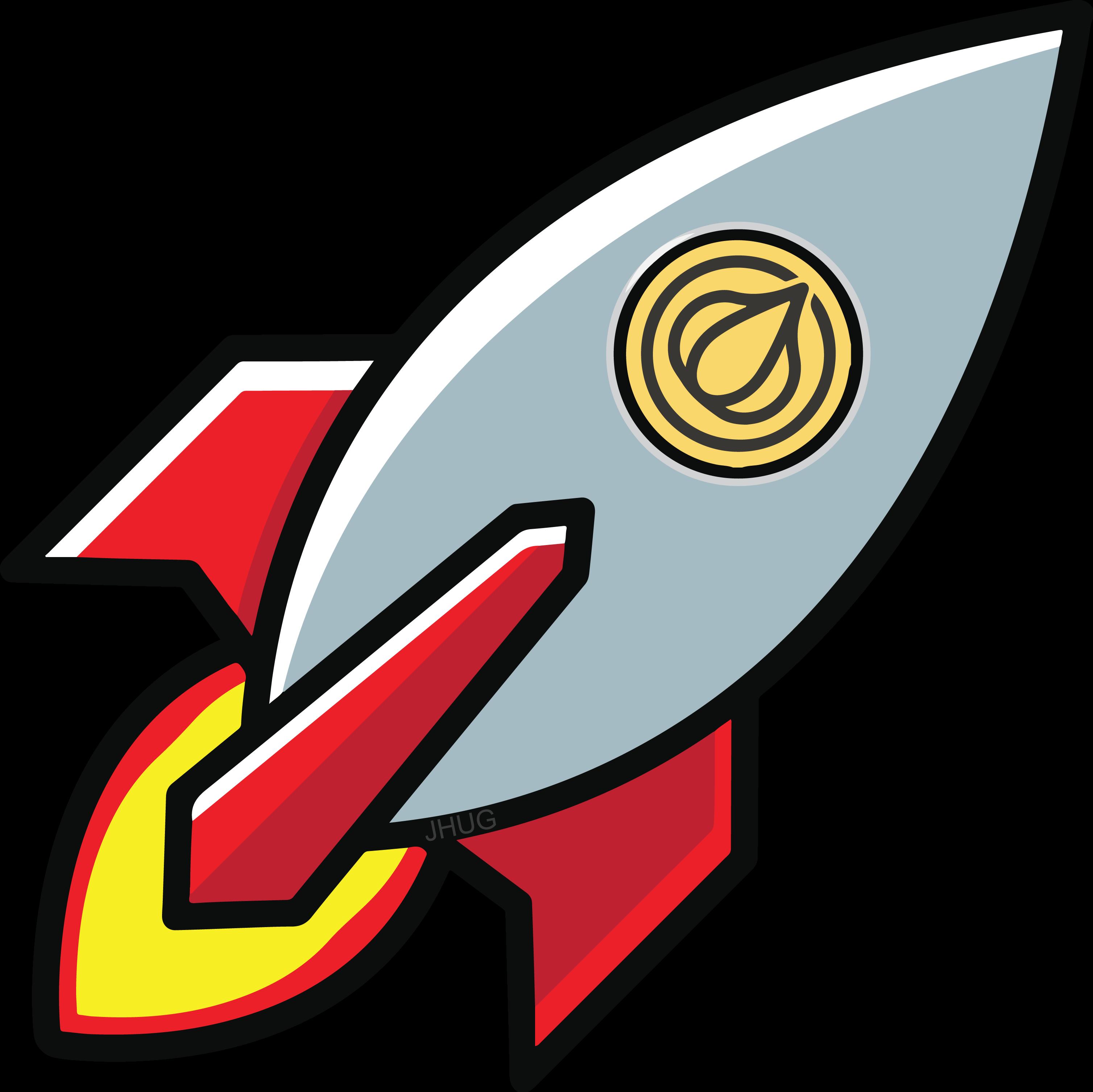 New emoji for your. Clipart rocket crash