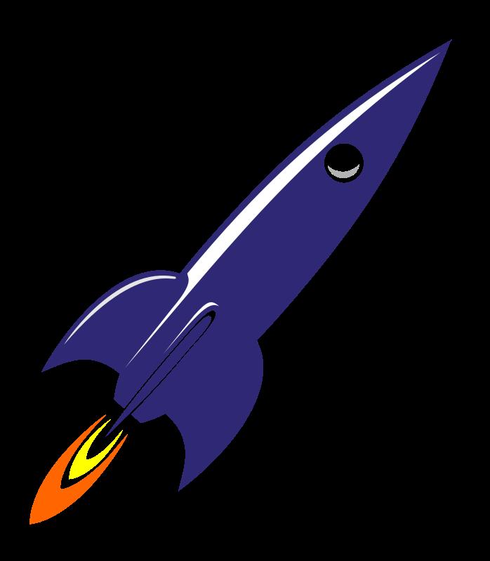 Clipart rocket cute. Space rockets free clip