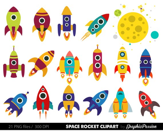 Portal . Clipart rocket cute